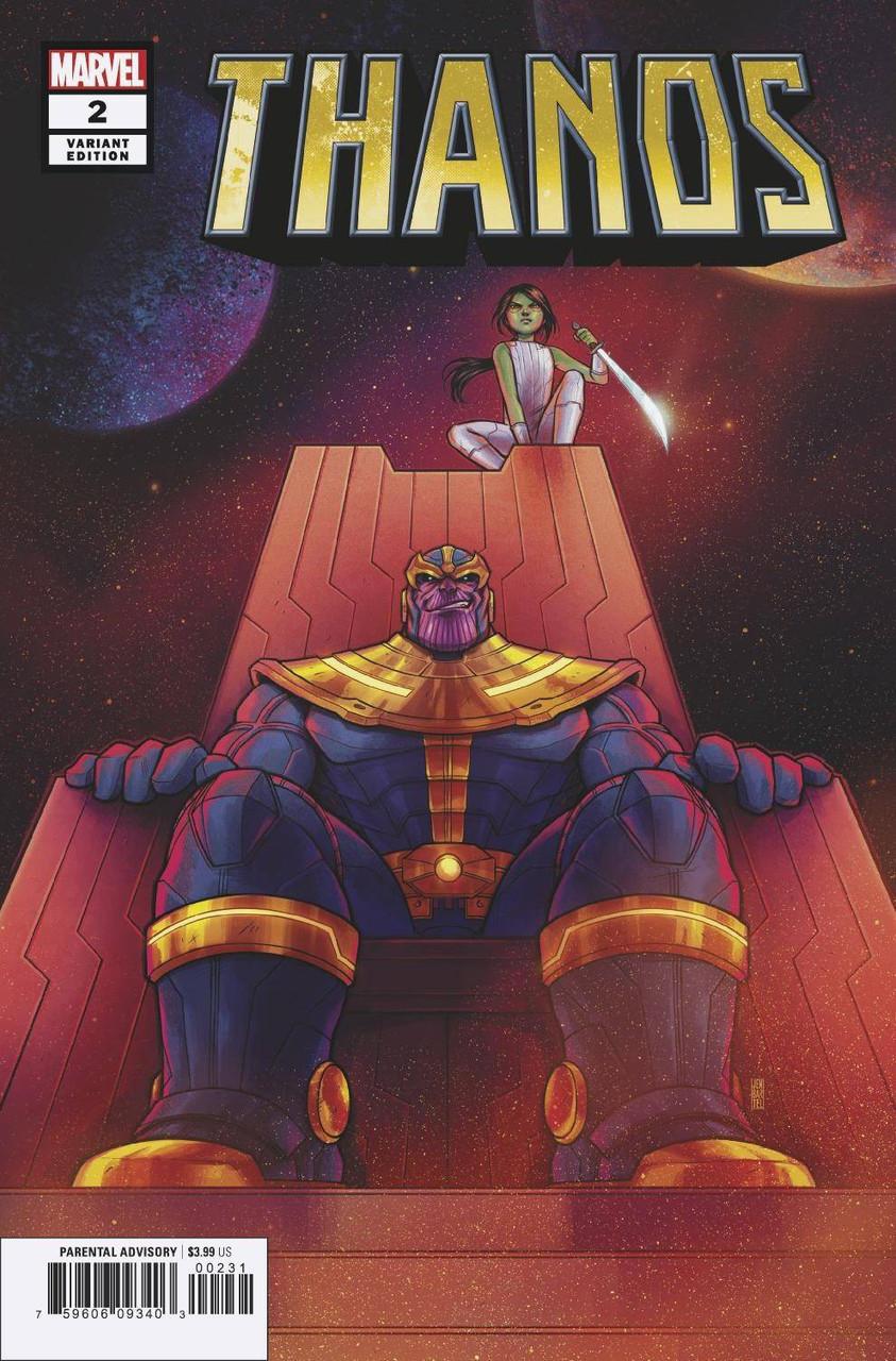 Marvel Thanos #8 Comic Book