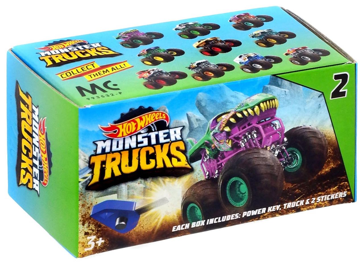 Hot Wheels Monster Trucks Series 2 Monster Trucks Mystery Pack Mattel Toys Toywiz