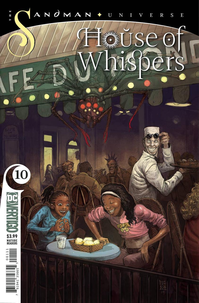 HOUSE OF WHISPERS #6 SANDMAN  UNIVERSE DC  COMICS  VERTIGO COVER A