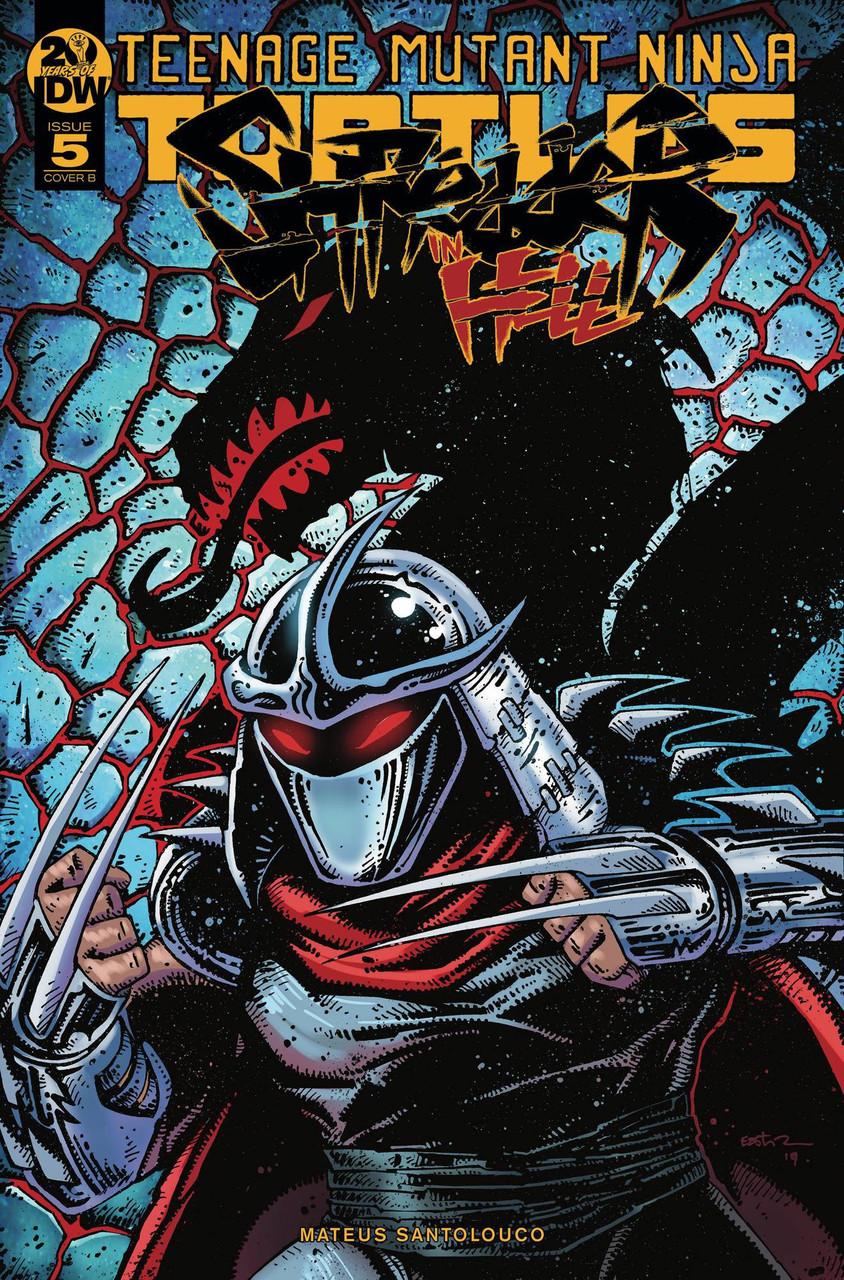 Idw Teenage Mutant Ninja Turtles Shredder In Hell Comic Book 5