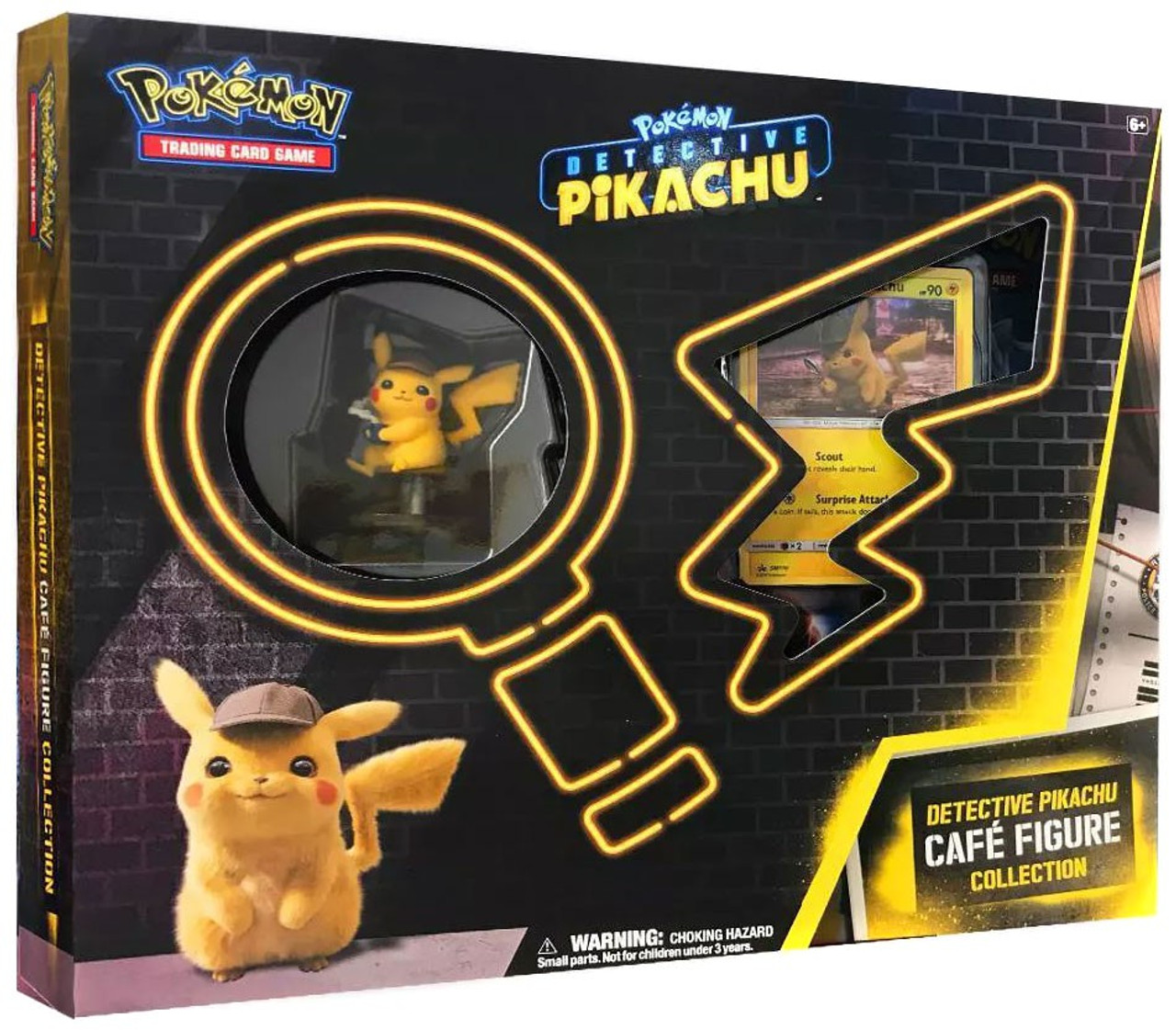 Early Release Pokemon Promo Detective Pikachu Cafe Collection Card