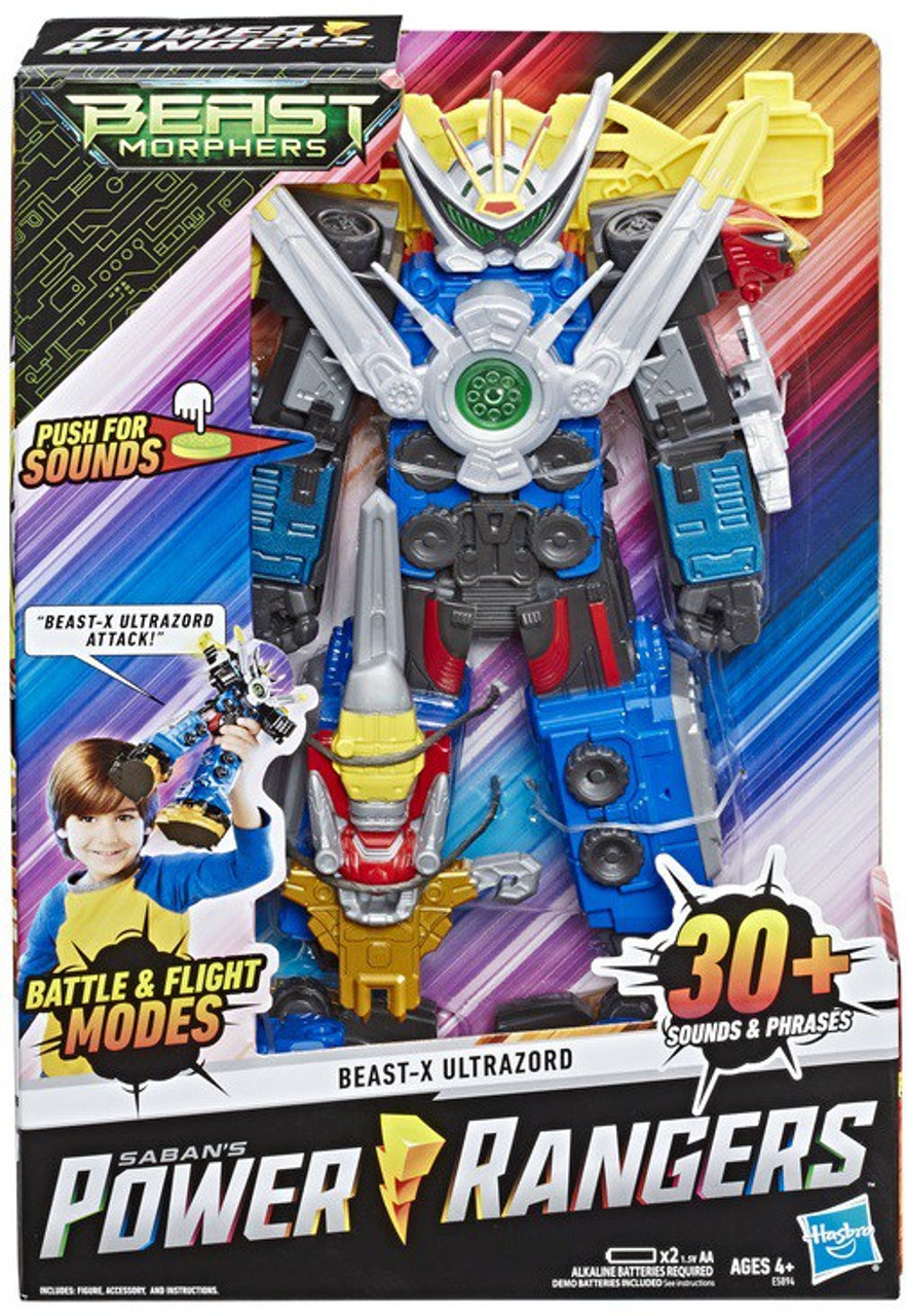 Hasbro Electronic Power Rangers Beast-X morpher Motion-activated avec touches