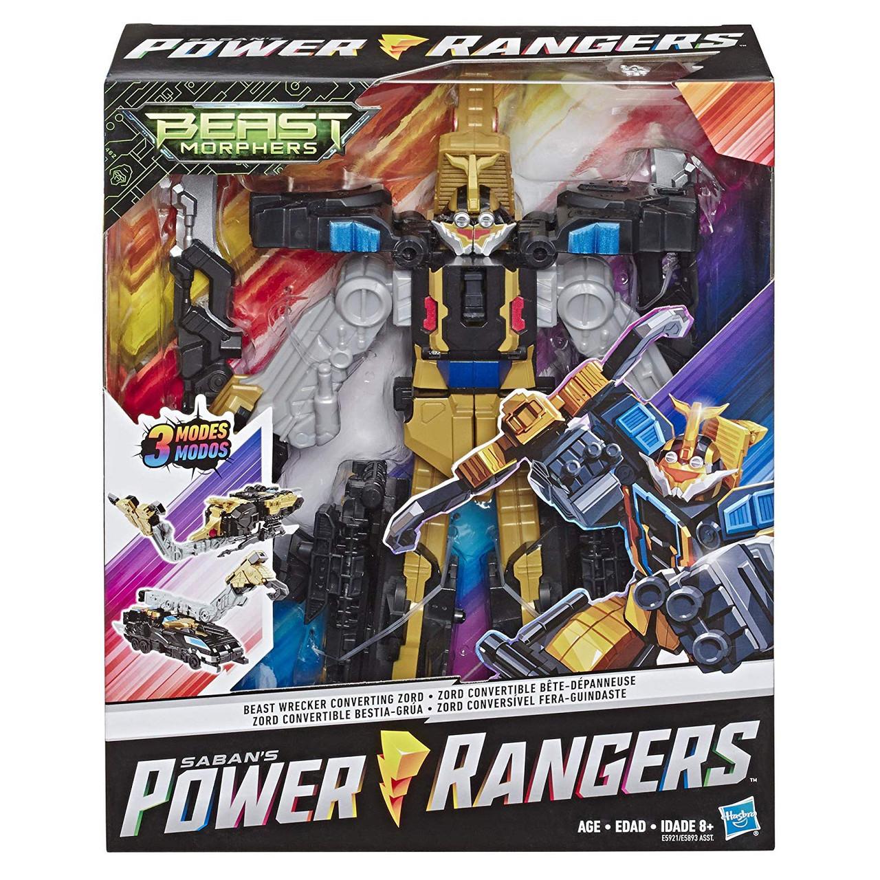 Power Rangers Bête Morphers Blue Ranger 12-Inch ACTION FIGURE