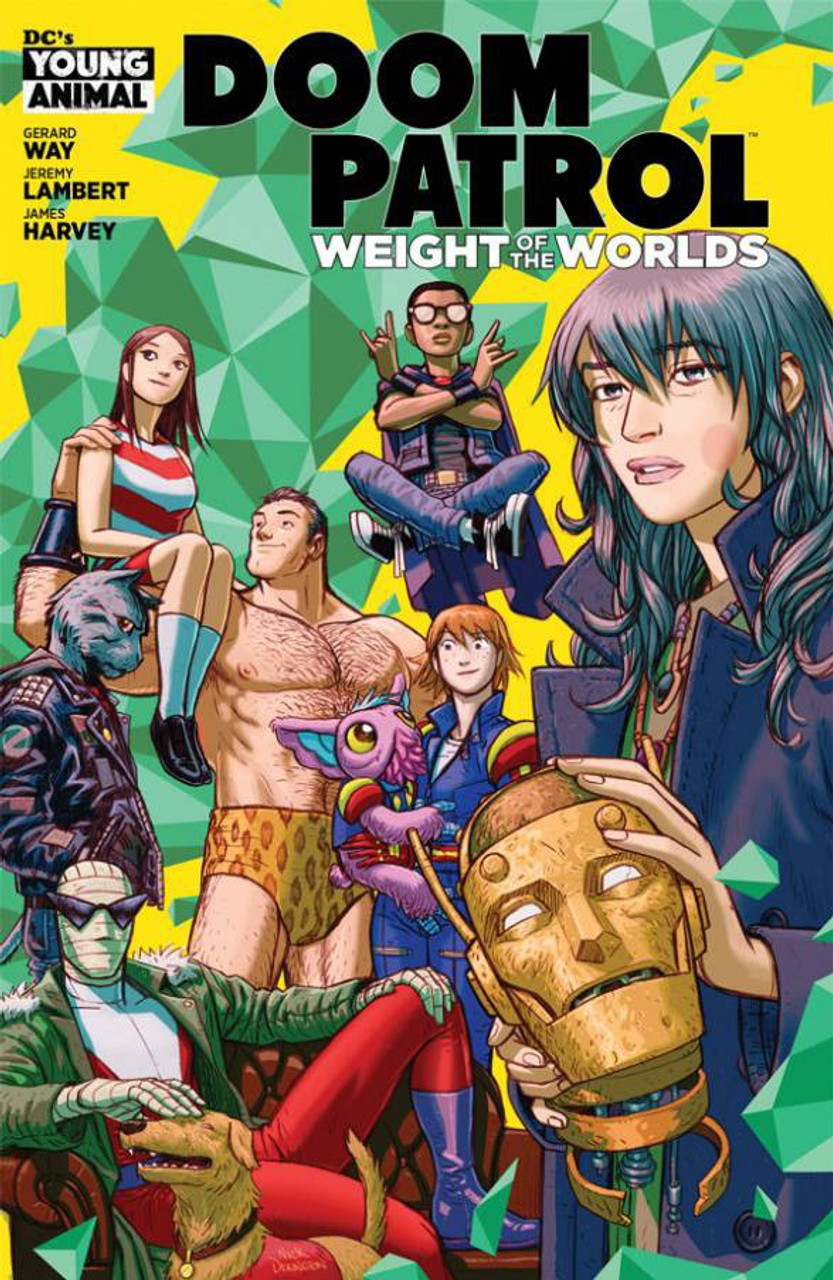 Dc Doom Patrol Weight Of The Worlds Comic Book 1 Dc Comics Toywiz