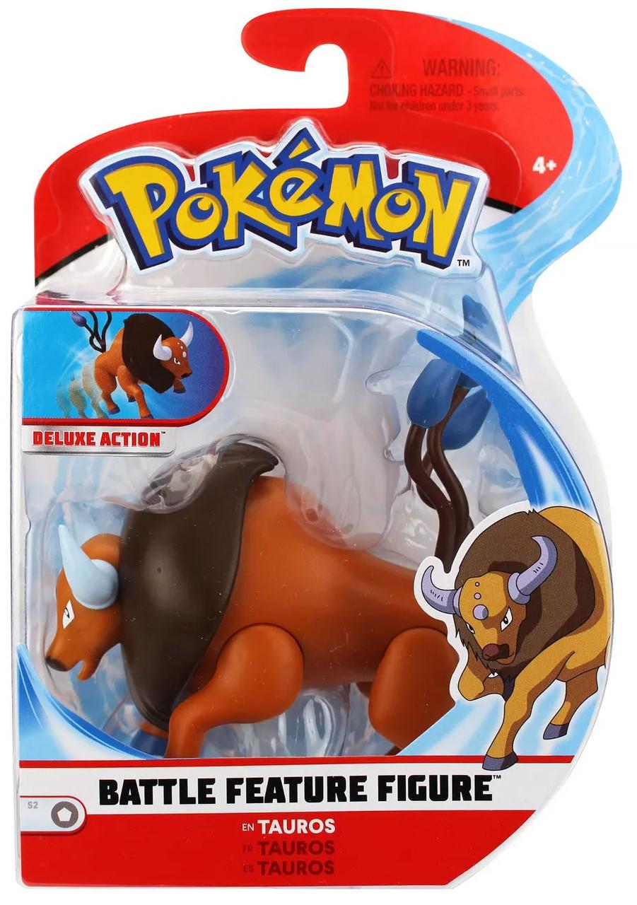 Pokemon Series 2 Battle Feature Figure Tauros 3 Figure