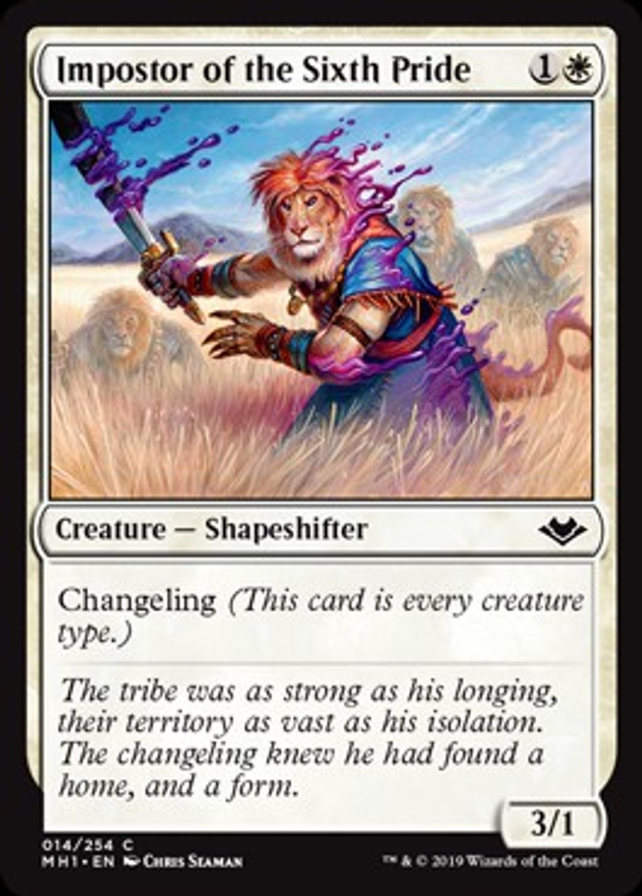 Magic The Gathering Modern Horizons Single Card Common Impostor of