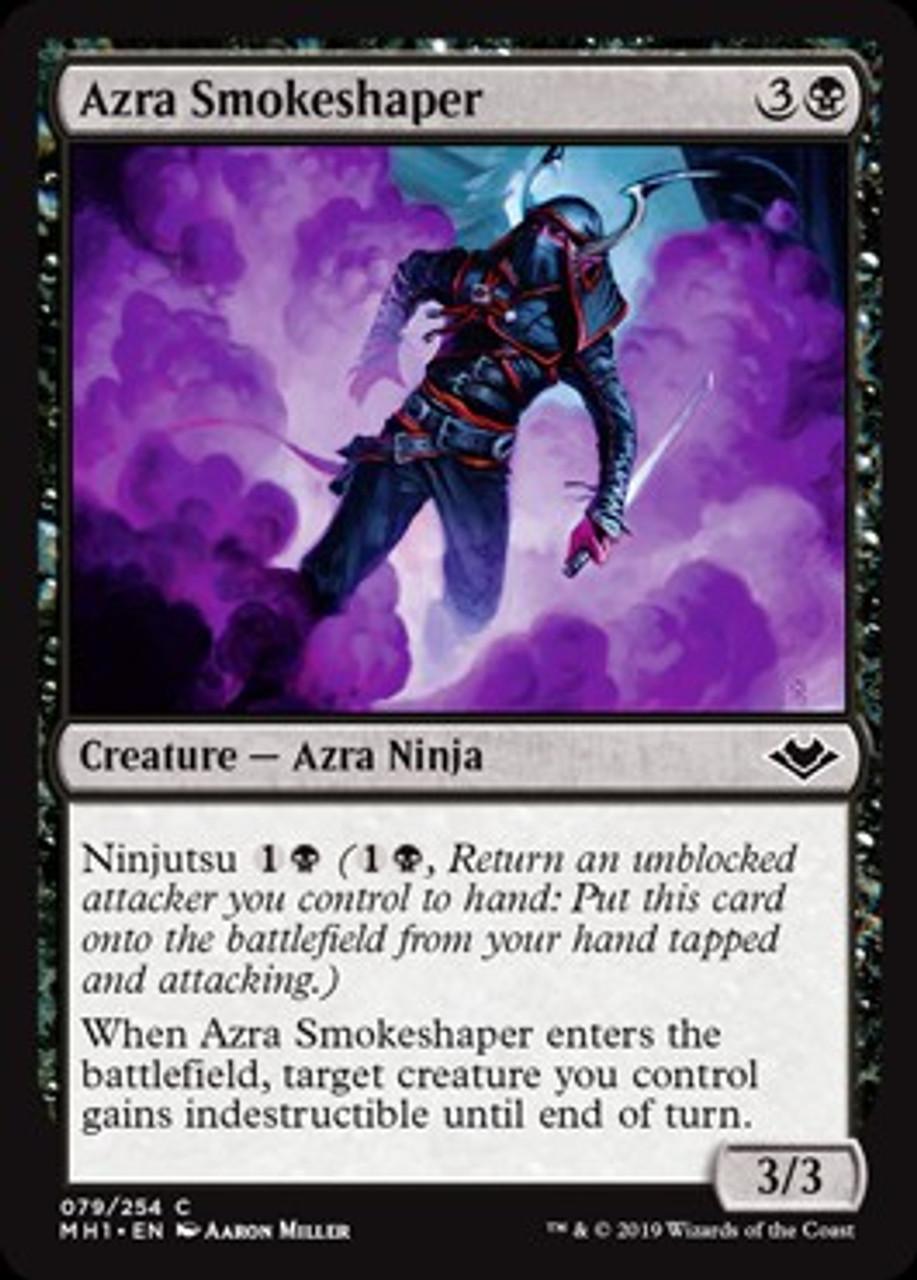 MTG Magic card Rare Fallen Shinobi #199 Modern Horizons Mint