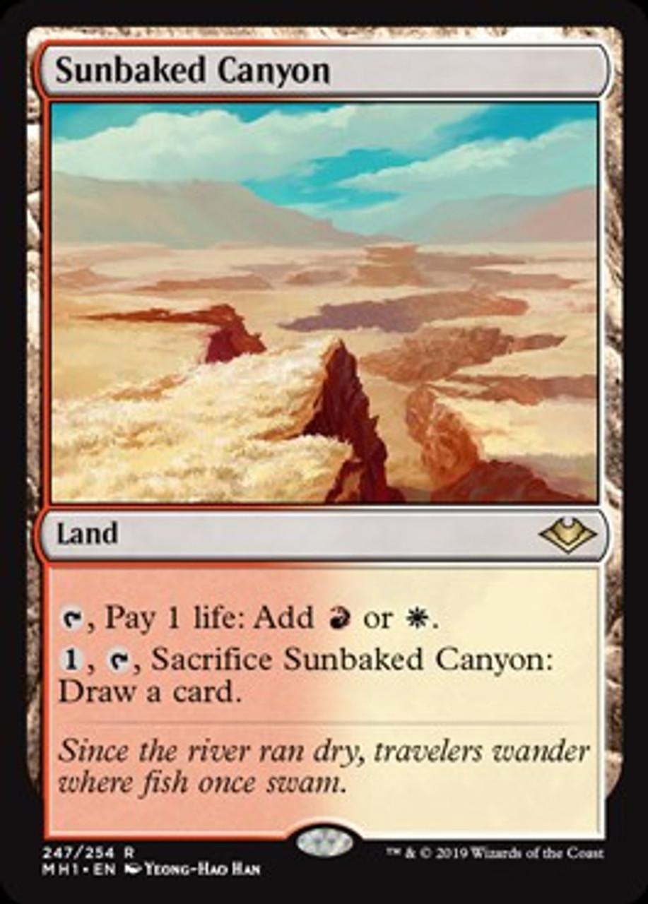 NM Modern Horizons Red Rare Tectonic Reformation