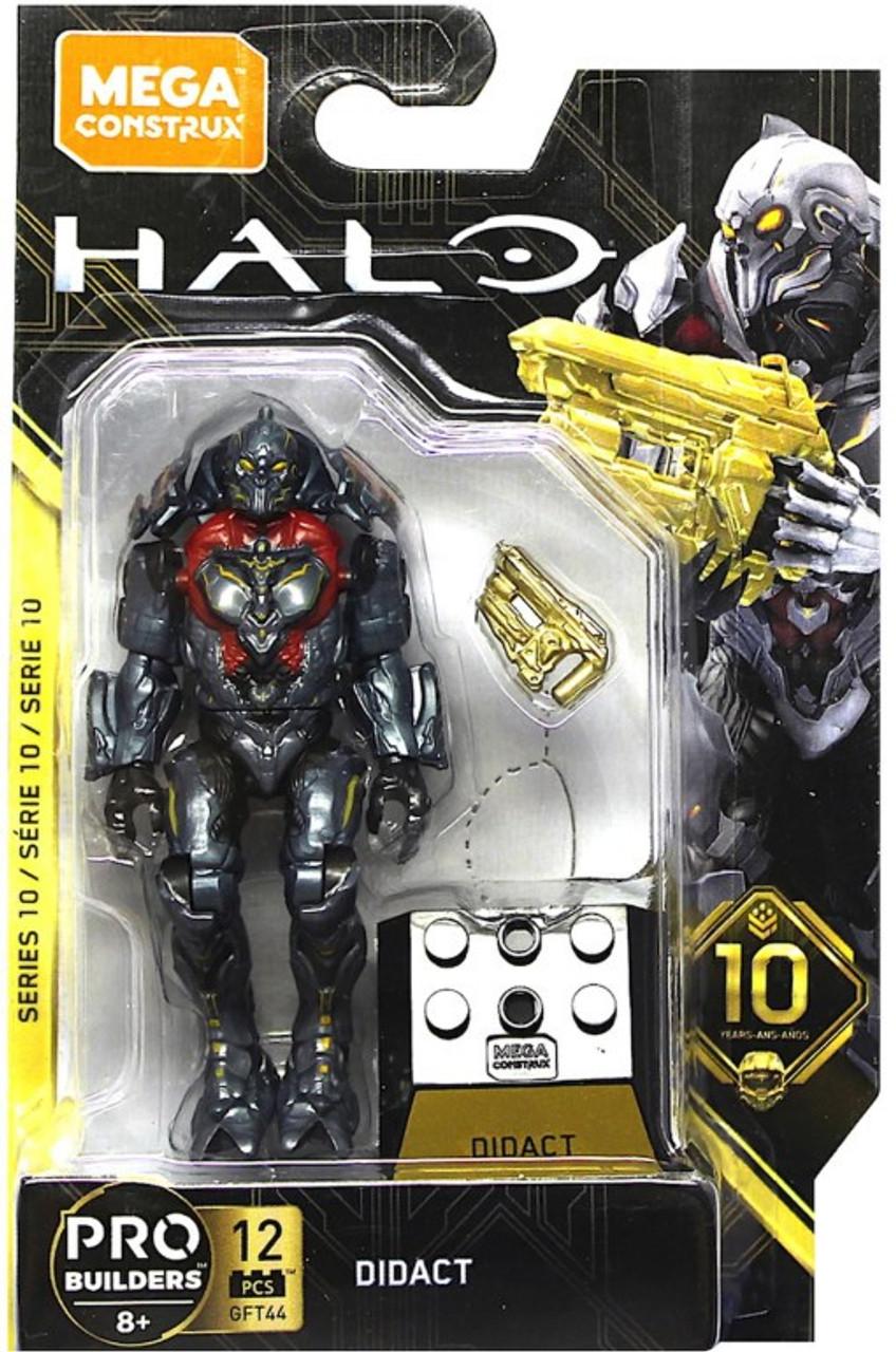 Mega Construx Halo Heroes Pro Builders Series 10 Didact Mini Figure GFT44