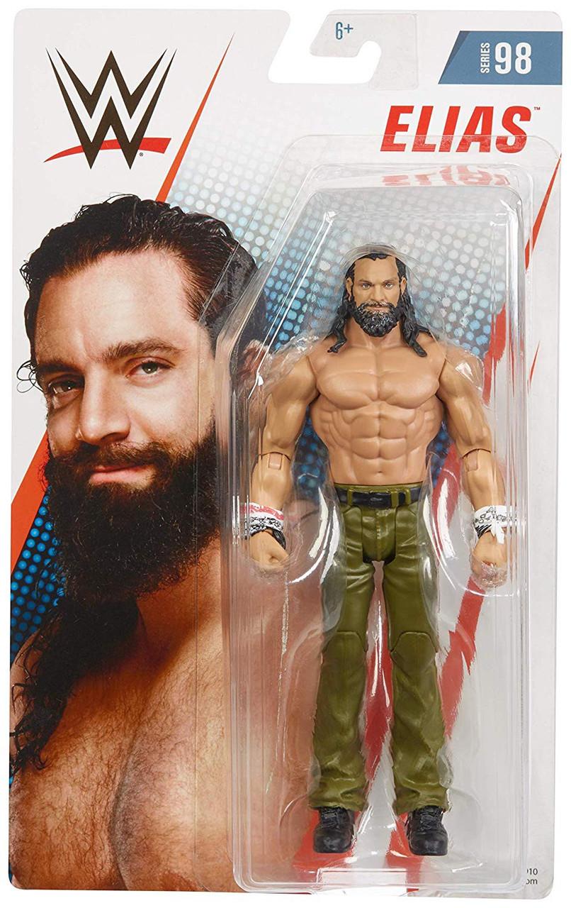 Tony nese white /& brown Gear Série WWE 98 Mattel Wrestling Action Figure