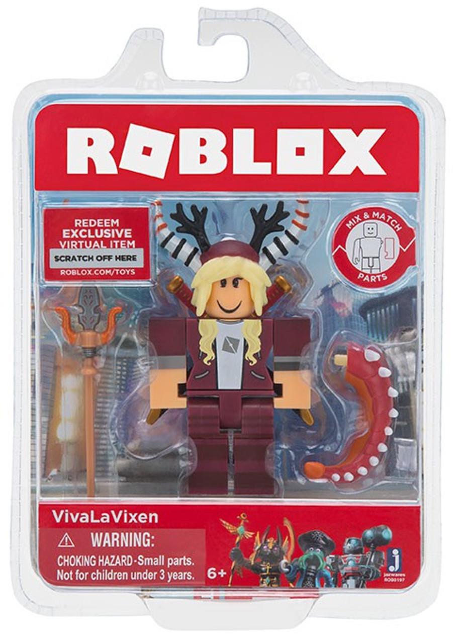 Roblox Vivalavixen 3 Action Figure Jazwares Toywiz