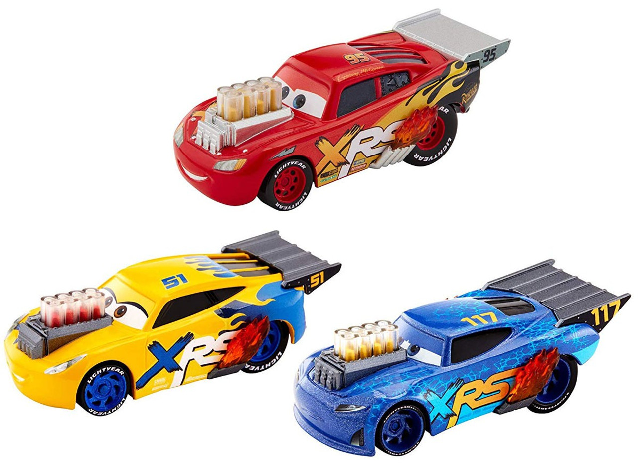 Disney Pixar Cars Crazy 8 Lightning Mcqueen Cruz Ramirez Lil
