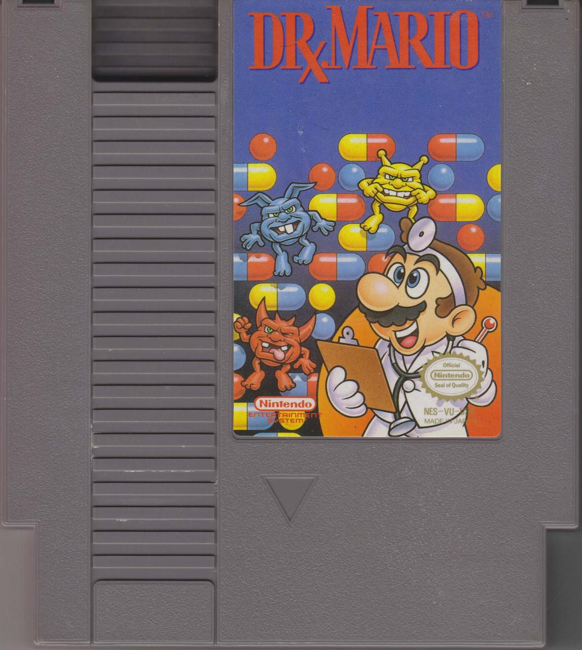 Nintendo NES Dr  Mario Video Game Cartridge [Loose] [Lighty Played]
