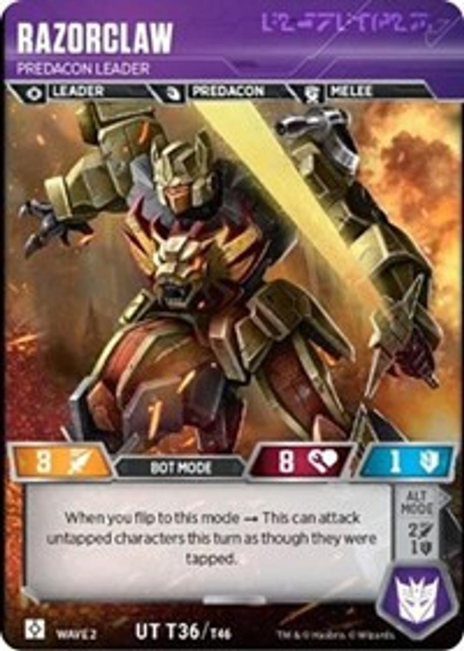Set of 3 Transformer Trading Card Game Battle Cards Tackle R 073