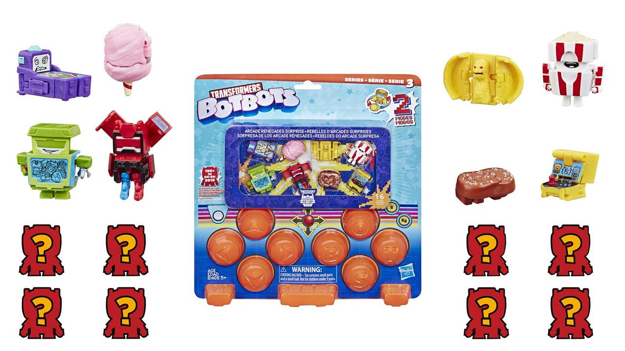 Transformers BotBots Series 3 Arcade Renegade Surprise Mini