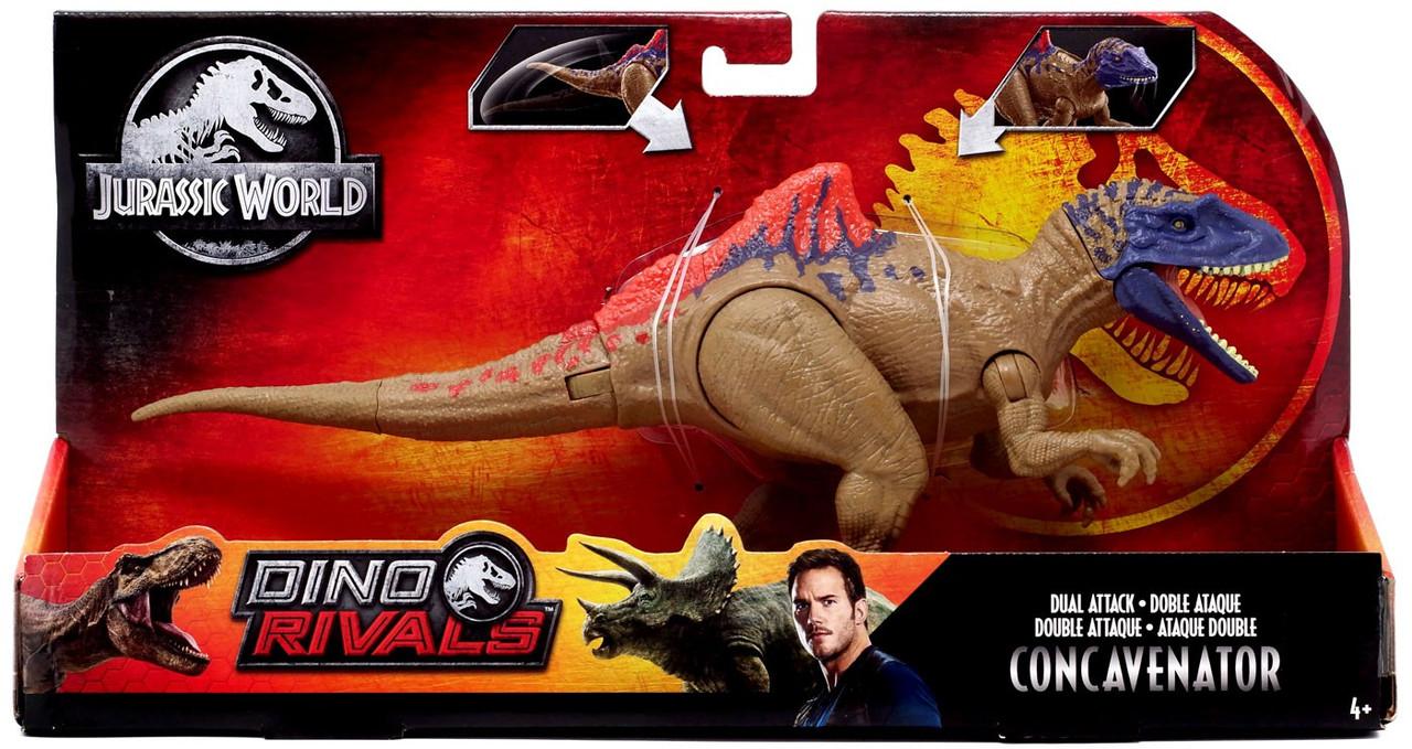 Jurassic Attack Concavenator World Park Mattel Dinosaur Dual Action Figure