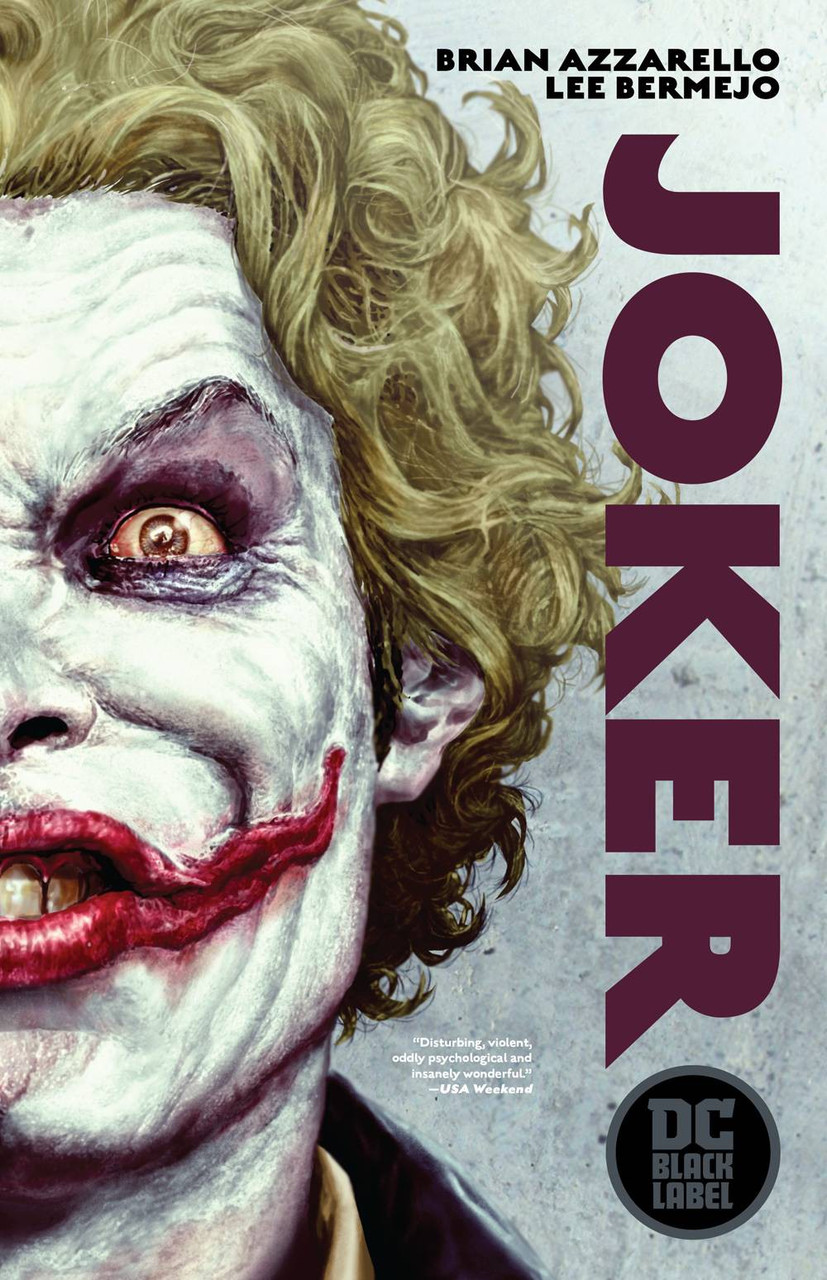 Dc Black Label Joker Trade Paperback Comic Book