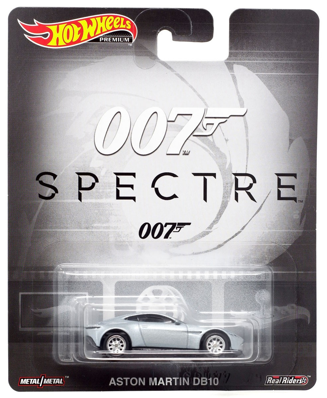 Hot Wheels Premium Aston Martin DB10 Die Cast Car [007 Spectre]
