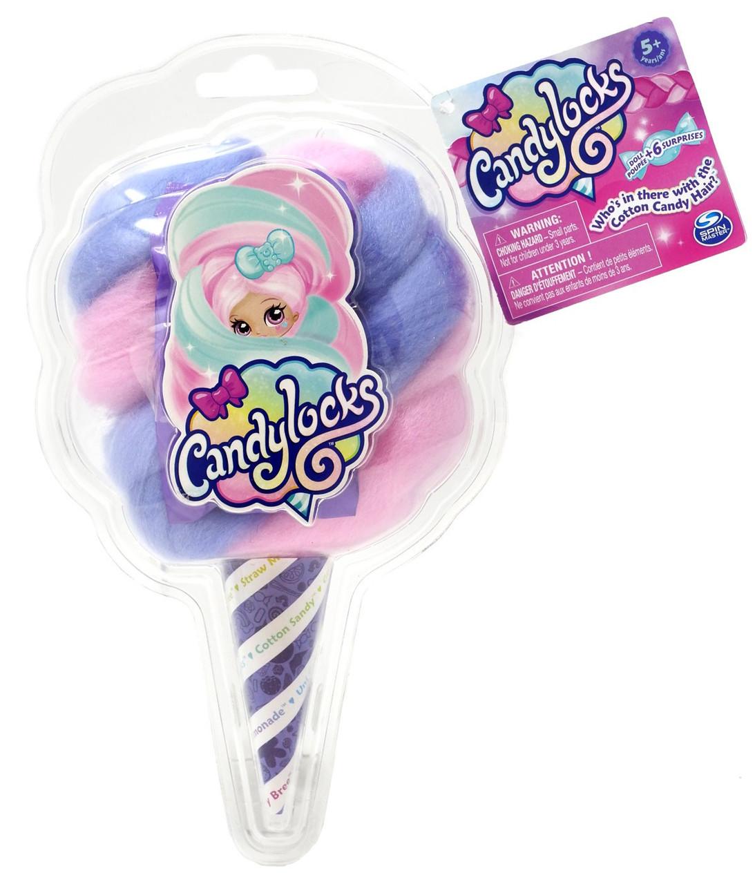 Candylocks Doll Spin Master Cute Kawaii Christmas Gift Free Ship Pink And Blue