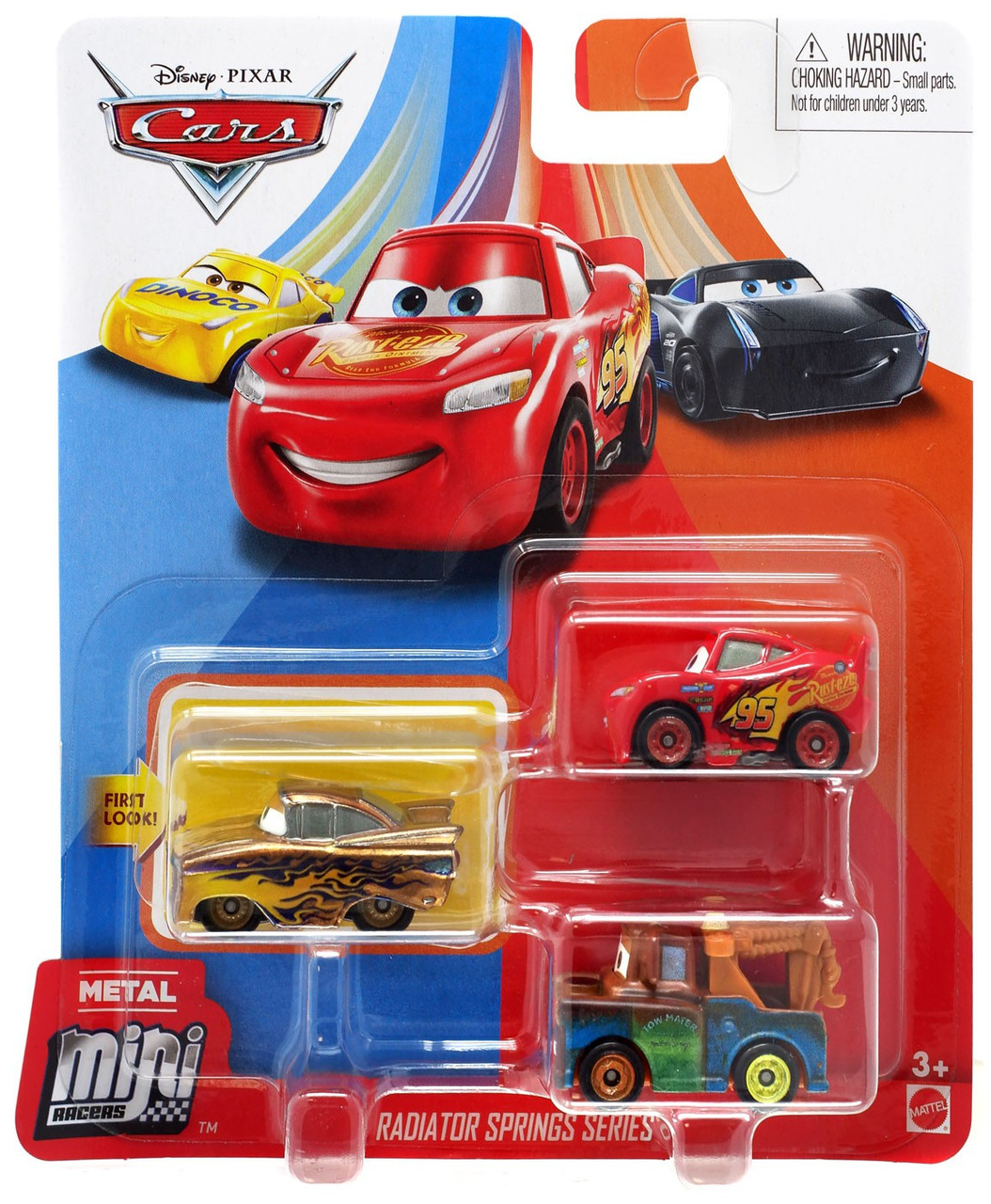 Disney Pixar Cars Die Cast Metal Mini Racers Radiator Springs Car
