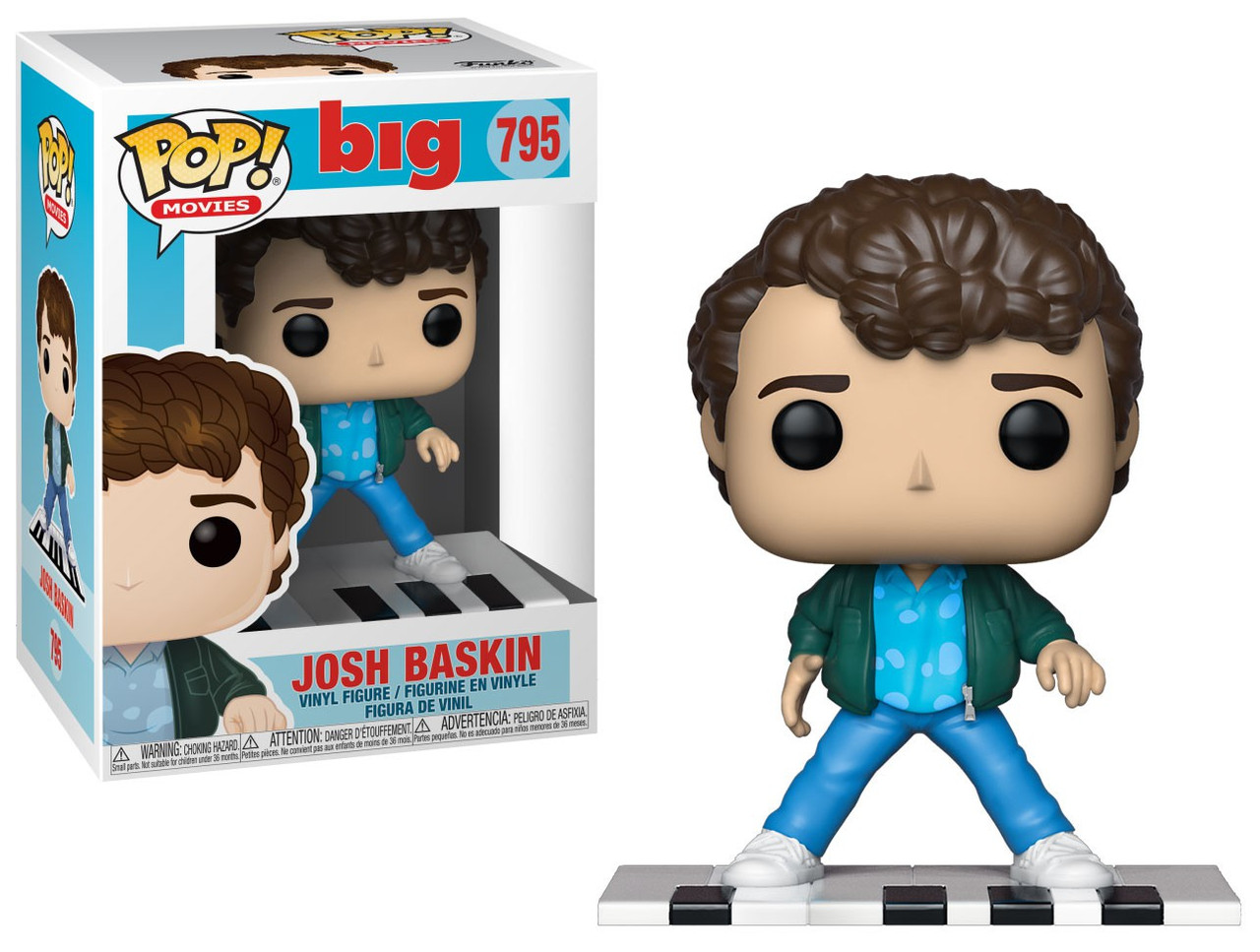Vinyl Figure Funko Pop Movies: Big-Josh Baskin Kid