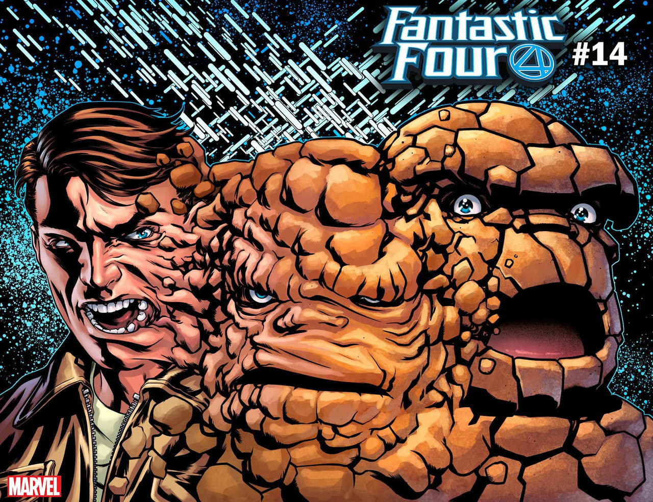 65986498c69 Marvel Fantastic Four #14 Comic Book [Thing Immortals Variant Cover]  (Pre-Order ships September)