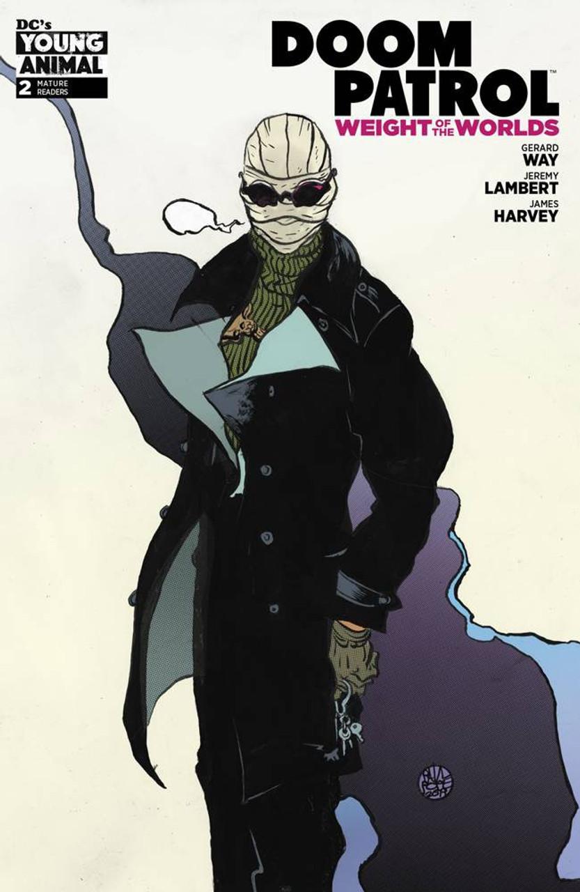 Dc Doom Patrol Weight Of The Worlds Comic Book 2 James Harvey