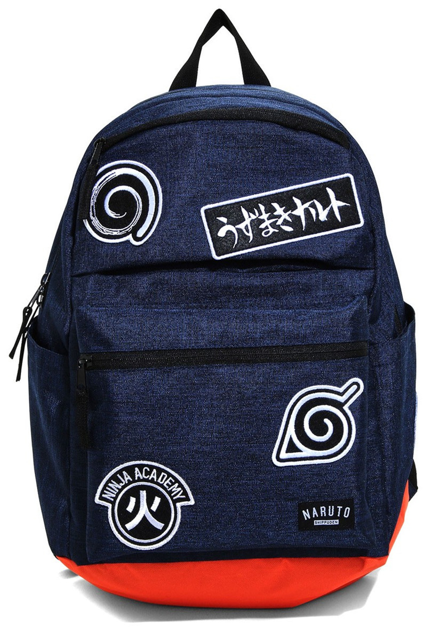 84abe4cc2b53 Naruto Symbols Patches Backpack