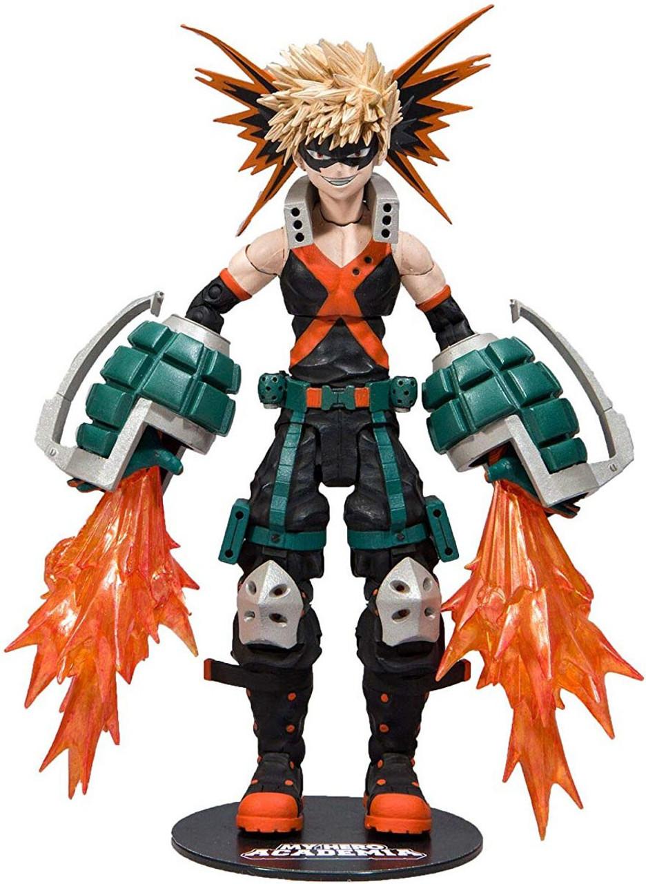 Mcfarlane Toys My Hero Academia Katsuki Bakugo Action Figure Hero Outfit