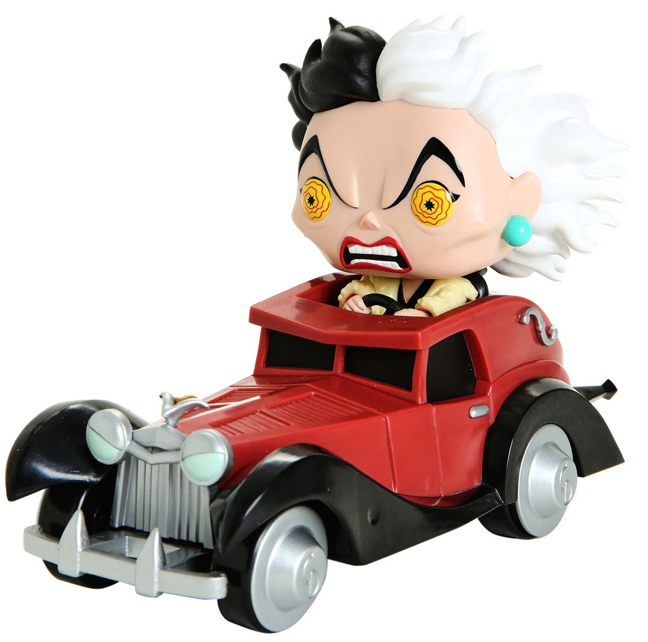 Funko Disney 101 Dalmatians Funko Pop Rides Cruella In Car Exclusive