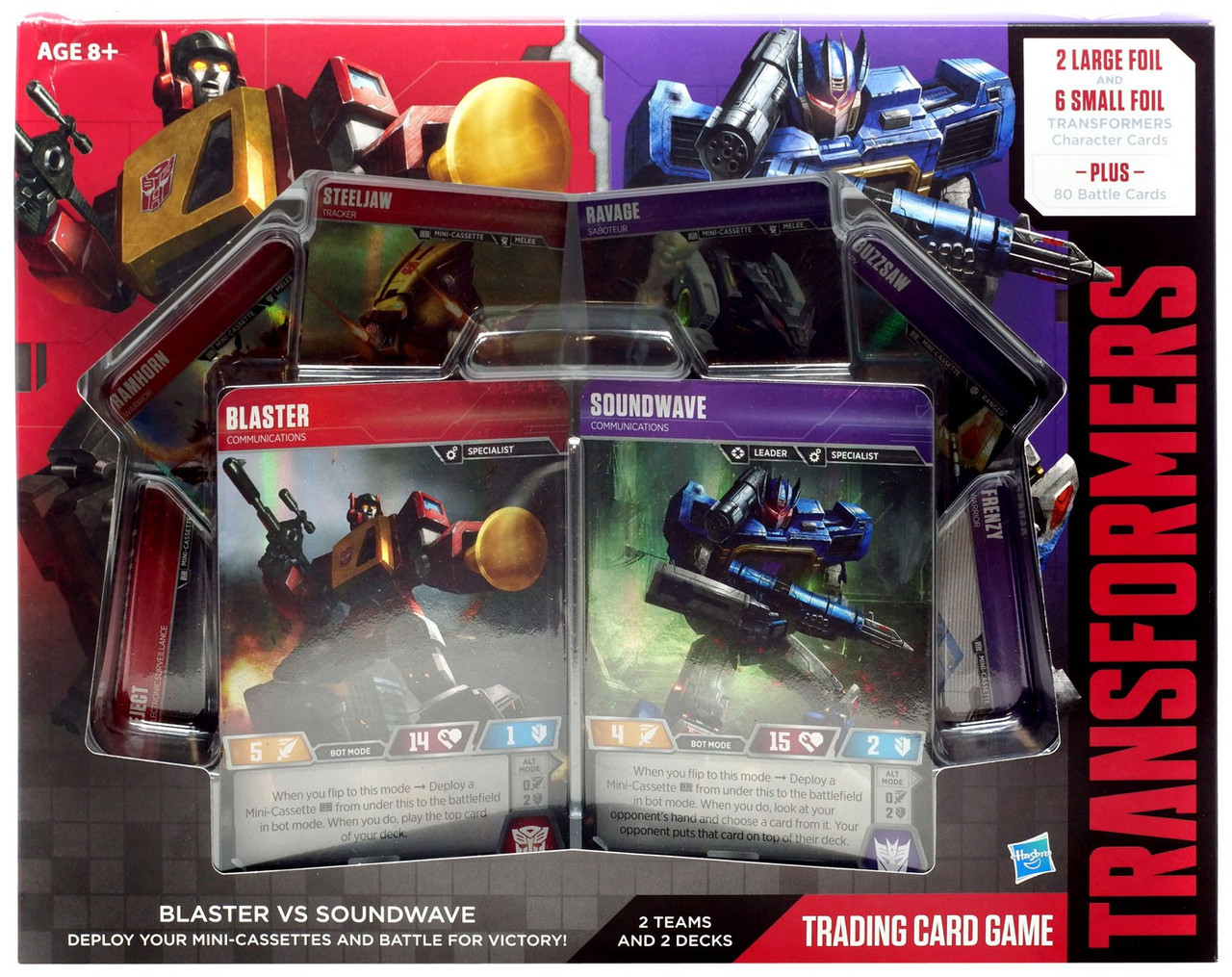 Autobot Jazz Wave 1 Special Ops TRANSFORMERS TCG