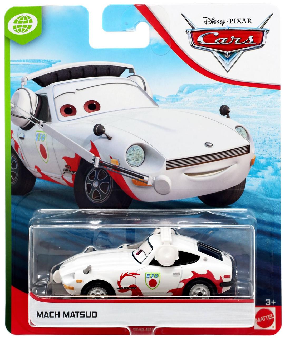 Disney Pixar Cars Wgp Mach Matsuo 155 Diecast Car Mattel Toys Toywiz