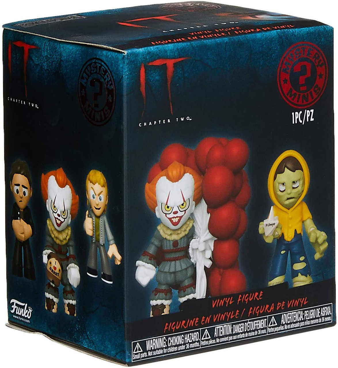 Funko Mystery Mini Figure PENNYWISE Stephen King/'s It: Chapter 2 Open Arms