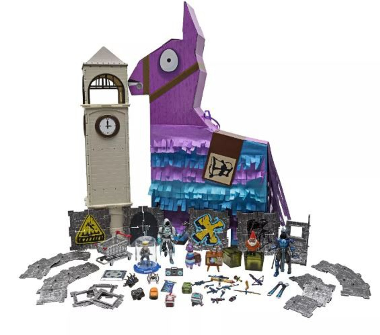 Fortnite Jumbo Llama Loot Pinata 4 Playset Jazwares - ToyWiz