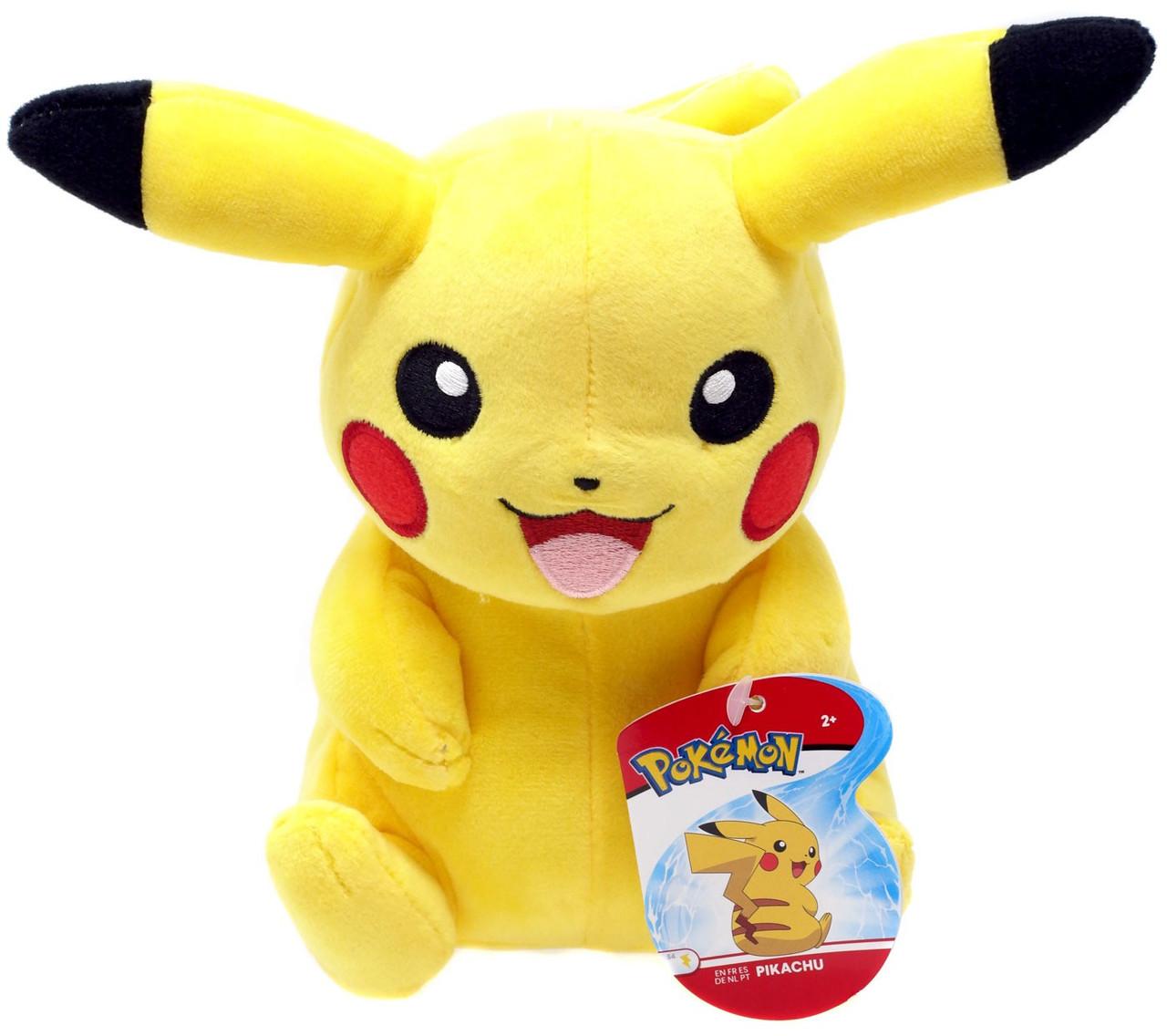 My Little Pony Pikachu Roblox Pokemon Pikachu 8 Plush Sitting Wicked Cool Toys Toywiz
