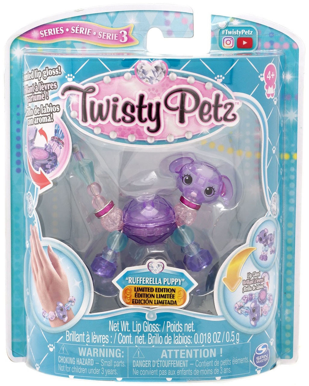 Twisty Petz Purrball Kitty Spin Master LTD