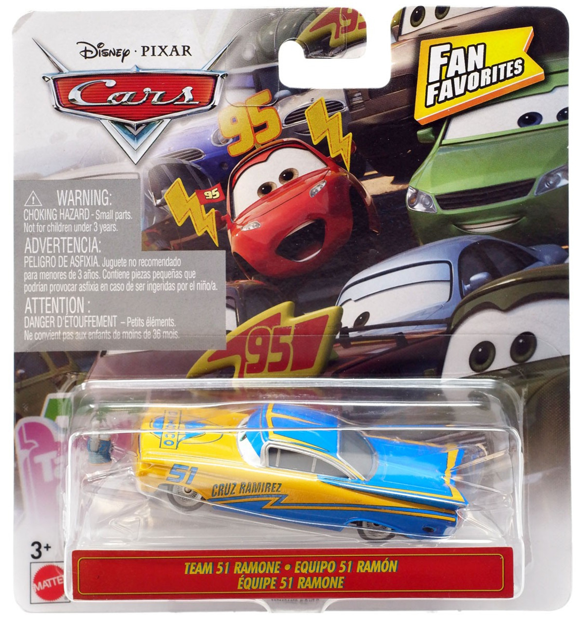 Disney Pixar Cars Fan Favorites Team 51 Ramone 155 Diecast Car