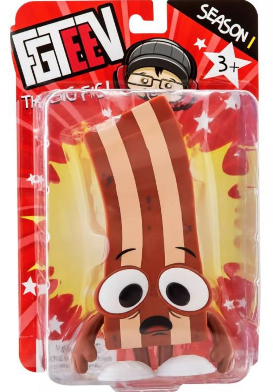 2019 FGTEEV Derpy Bacon Action Figure Season 1