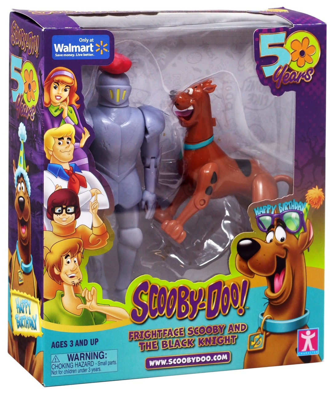 50 Years Frightface Scooby /& The Black Knight Action Figure New MISB Scooby-Doo