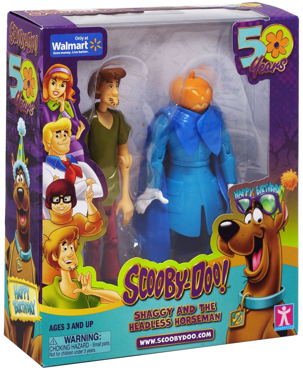 Neon Green Shirt Goes With Shaggy Roblox Scooby Doo 50 Years Shaggy The Headless Horseman Exclusive Action Figure 2 Pack Zoink Toywiz