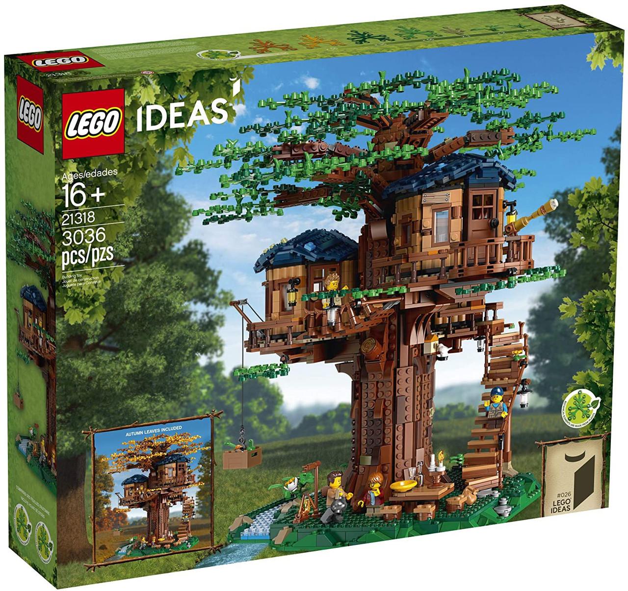 LEGO Ideas Tree House Set 21318 - ToyWiz