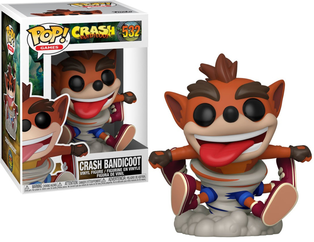 Crash Funko Crash Bandicoot Pop!