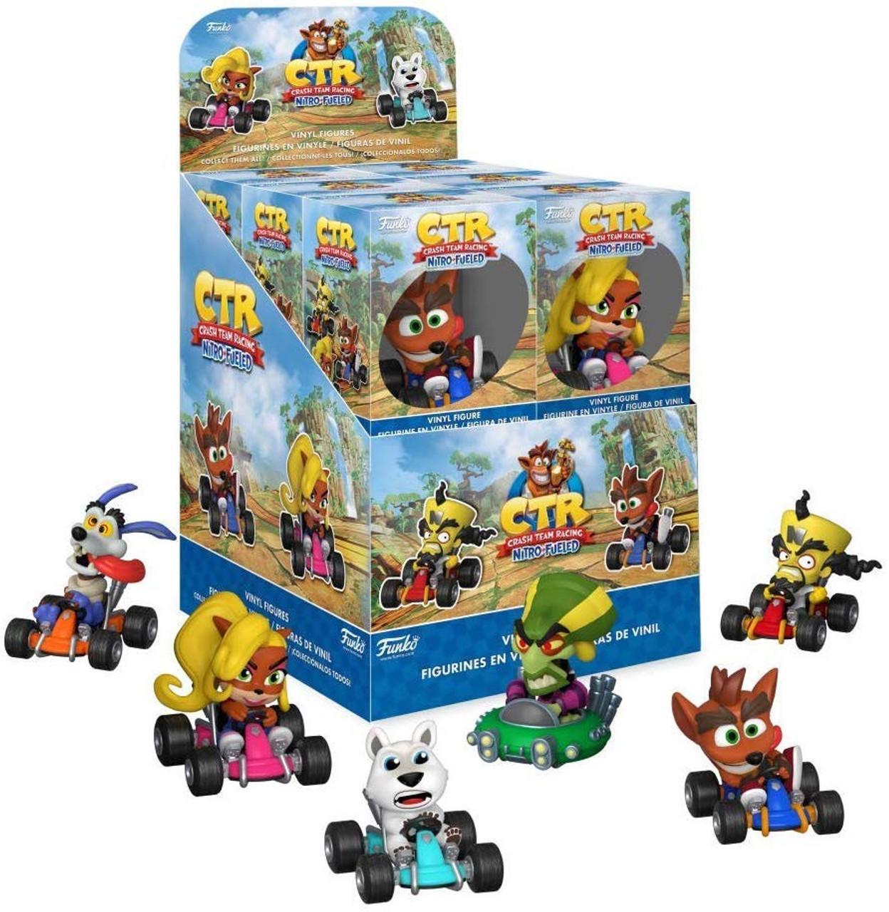 Funko Crash Bandicoot Mystery Minis Crash Team Racing Nitro-Fueled Mystery  Box [12 Packs] (Pre-Order ships October)