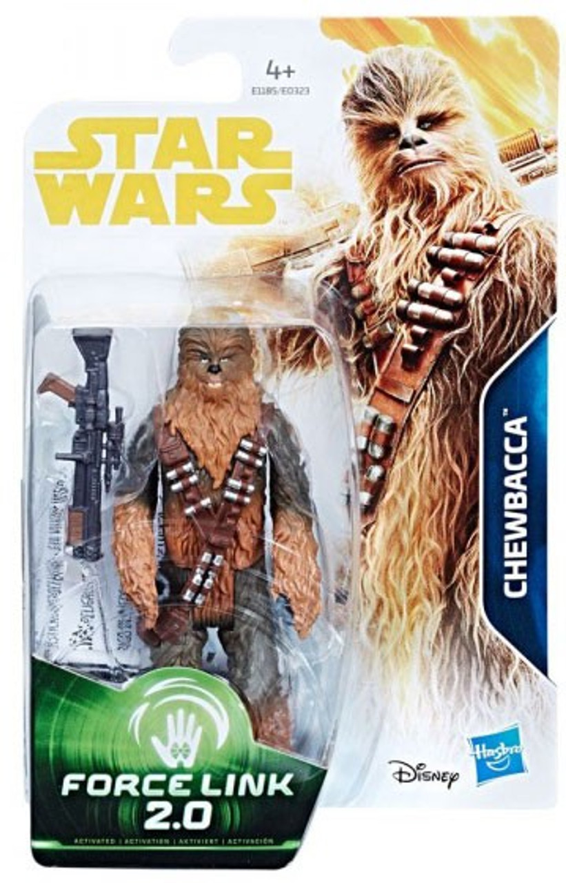 Disney Star Wars Solo Force Link 2.0 Chewbacca Action Figure Hasbro New