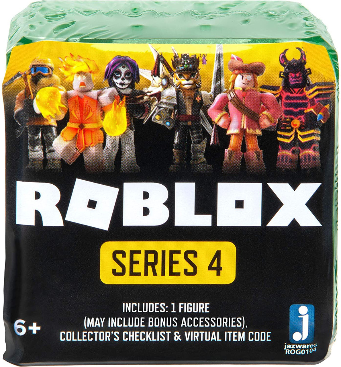 Roblox Series 4 - Roblox Celebrity Collection Series 4 Mystery Pack Green Cube