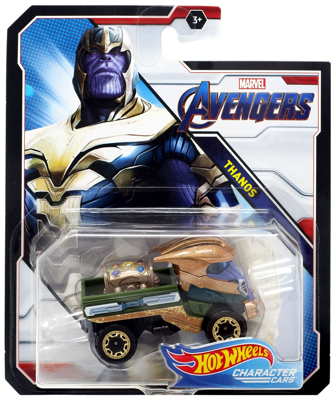 Hot Wheels Marvel Character Cars Thanos Die-Cast Car [Avengers]