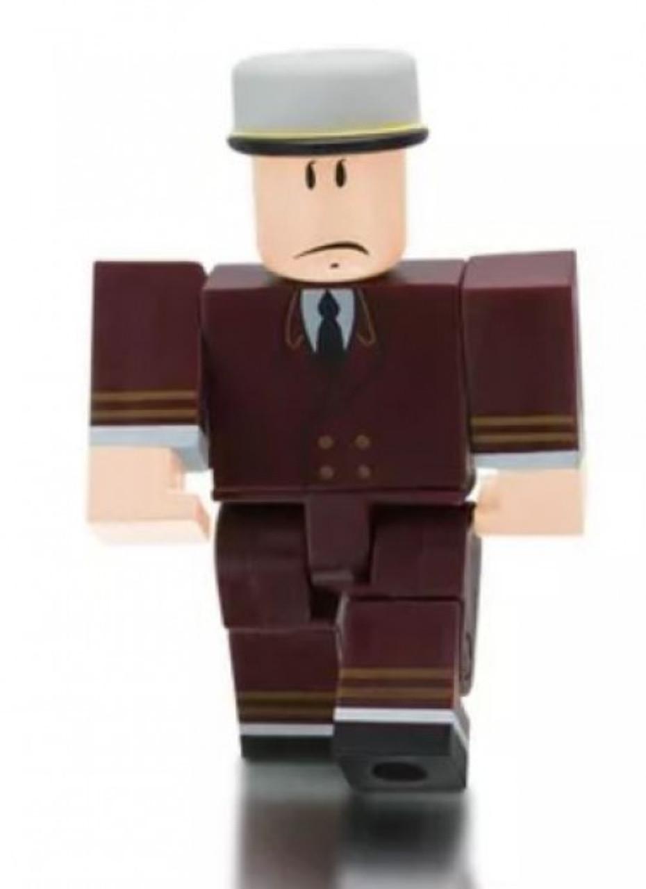 Hat Man Roblox Roblox Series 3 A Norman Elevator Doorman 3 Mini Figure Without Code Loose Jazwares Toywiz