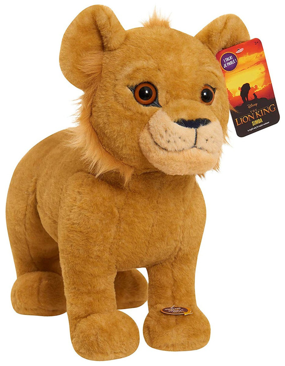 Disney The Lion King 2019 Simba 14 Inch Plush With Sound