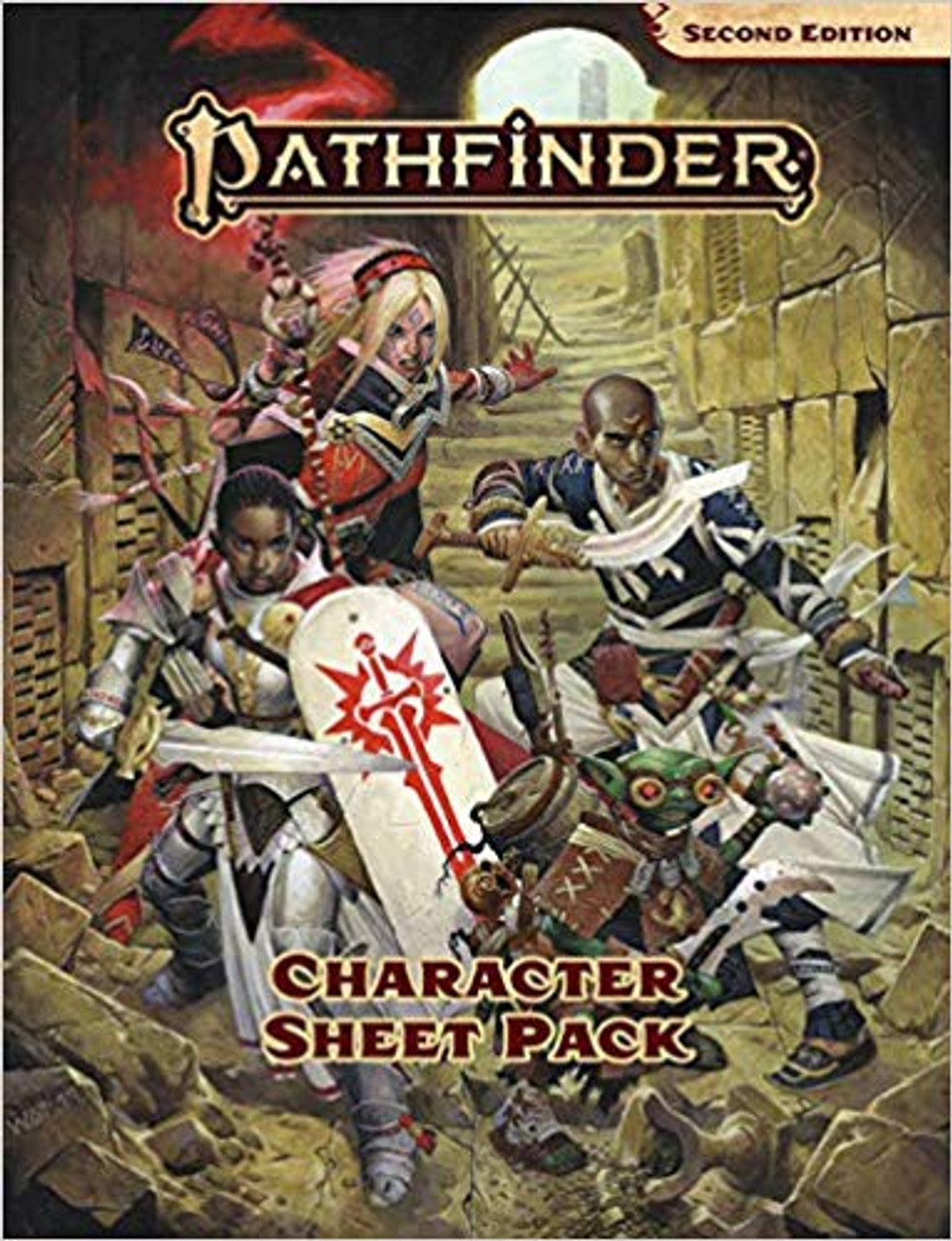 Pathfinder 2nd Edition Character Sheet Pack Role Play Accessory