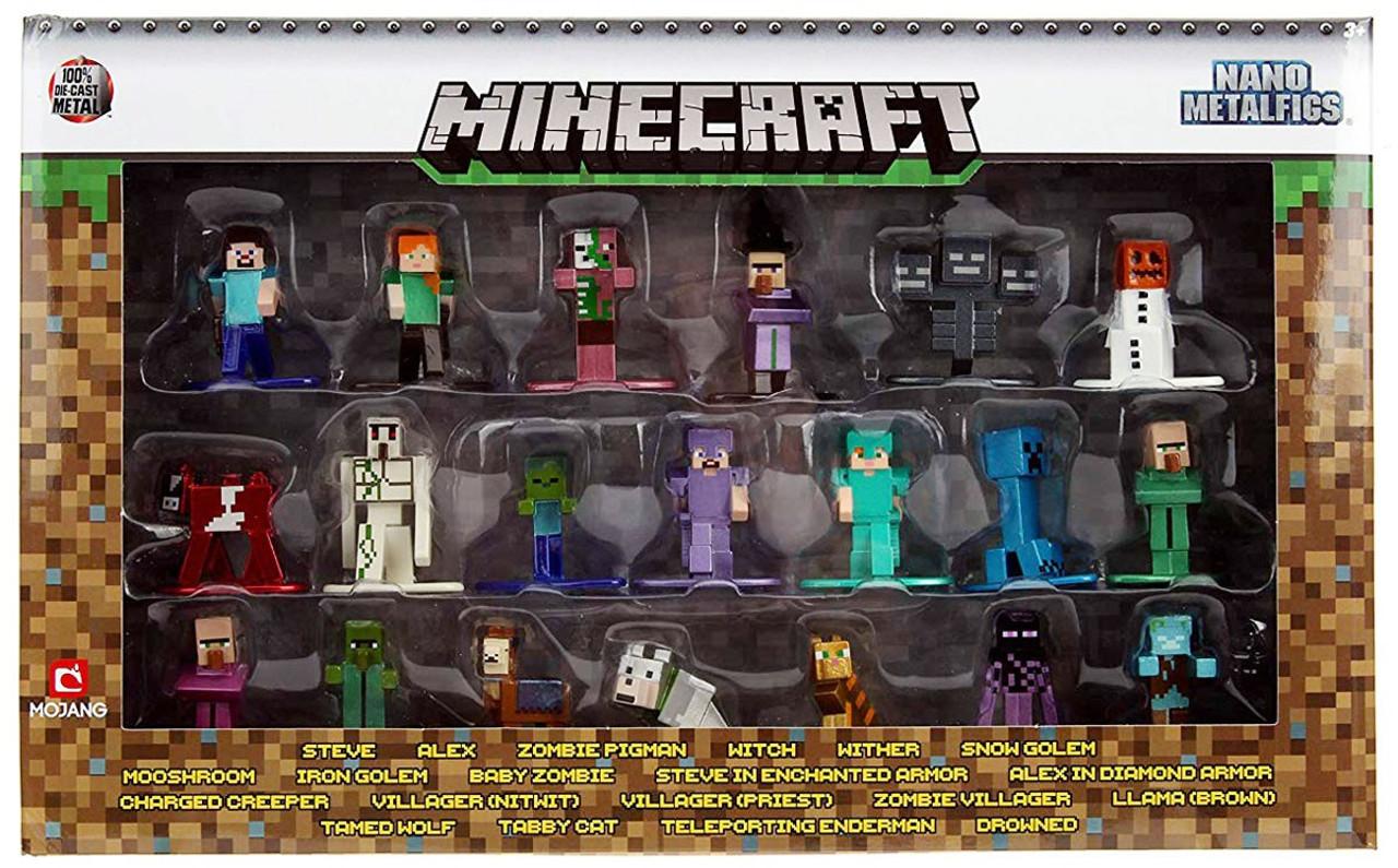 Mine Craft Nano Metalfigs 100/% Die-Cast Metal Witch